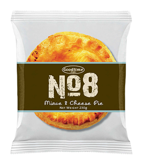 No8 Premium Mince n Cheese Pie