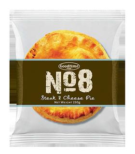 No8 Premium Steak Cheese Pie