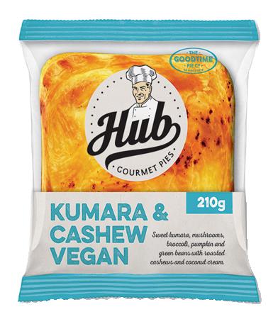 Hub Kumara Cashew Vegan Pie