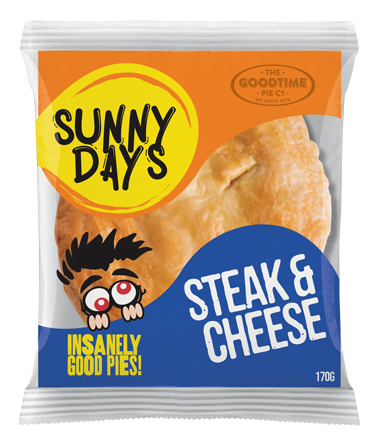 Goodtime SunnyDays Steak and Cheese Pie