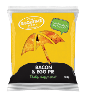 Goodtime Classic Bacon and Egg Pie