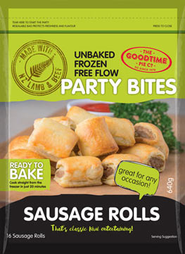 Goodtime Party Bites Sausage Rolls