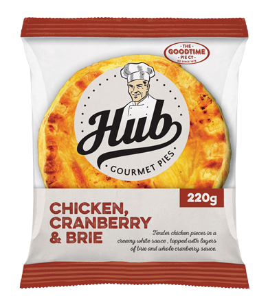 Hub Pie Chicken Cranberry and Brie