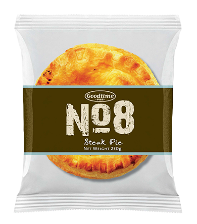 No.8 Premium Steak Pie